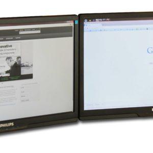 Billede af Dobbeltskærm holder med to skærme