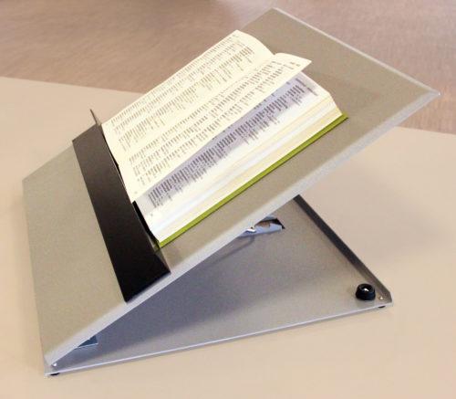 Billede af Læsestativ - Justérbar med bog og magnetholder