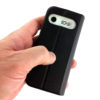 Billede af MiniVision Flip Cover i hånden