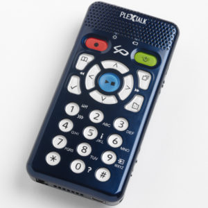 Billede af PlexTalk Linio Pocket set oppefra