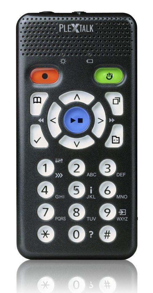Billede af PlexTalk Pocket set forfra