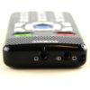 Billede af PlexTalk Pocket toppen med hovedtelefon og line in port