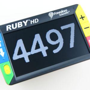 Billede af RUBY HD set oppefra.