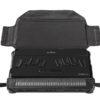 BrailleNote Touch Plus 32 Taske foldet ud med det fysiske tastatur placeret oven på skærmen