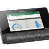 BrailleNote Touch Plus 32 med Excel regneark i skærmbilledet