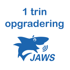 JAWS opgraderings logo