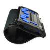 Lædertaske Focus 14 Blue 5G Set fra venstre side