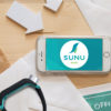 Sunu Band S med iPhone 8 1