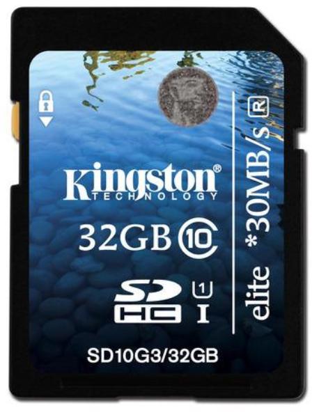 32 Kingston UHD Class 10