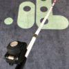 BuzzClip Cane Mount med Instrulog logo