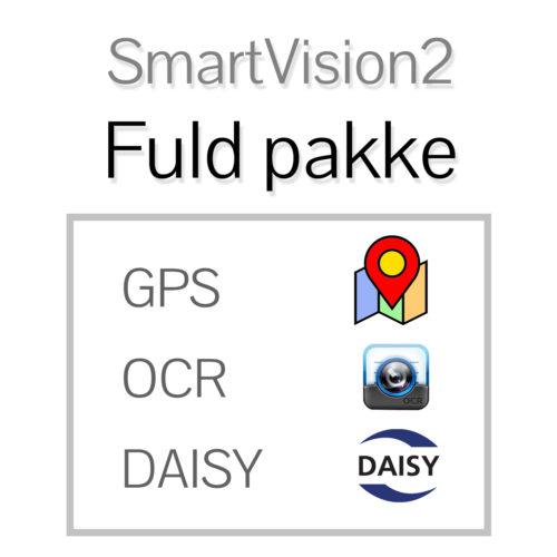 SmartVision2 Plus - Fuld pakke