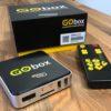 Billede af Go-box sammen med æske og fjernbetjening