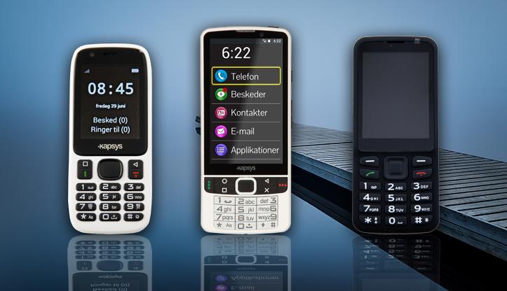 Mobiltelefoner med tale