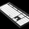 Billede af LogicKeyboard Punkttastatur 8 Punkt Set fra siden